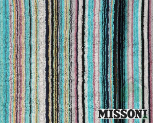 Set Asciugamani Missoni 1 asciugamano + 1 ospite JAZZ 170 MILLERIGHE