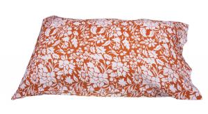 Set lenzuola Puro Lino BELLORA BENNY per letto matrimoniale disegno floreale bruciato