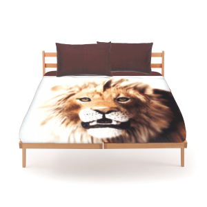 Set of sheets Bassetti by Gardone for single bed white LION Fund