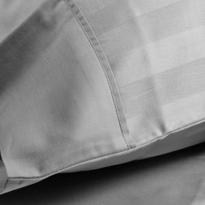 Double bedding full satin jacquard MAXI Trendy Grey