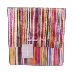 Missoni Home 156 Jazz bathmat 60x90 Brown, Orange and green