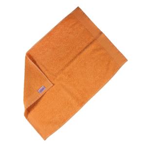Happidea asciugamano ospite in spugna Voglia di Colore 450 grammi 40x60 cm - melone