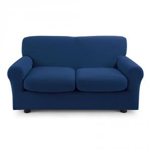 Copridivano 2 posti con 2 cuscini Zucchi Copri divano ZAPPING blu