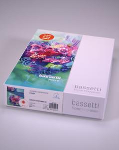 Set lenzuola Bassetti letto singolo in puro cotone ENJOY si illumina al buio