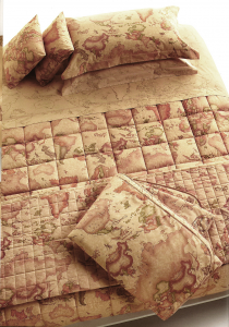 Quilted Bedspread double Blanket Alviero Martini Pangea 1 Class