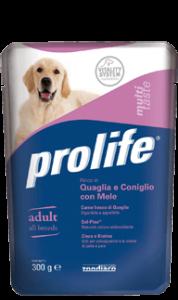 PROLIFE ADULT QUAGLIA E CONIGLIO CON MELE
