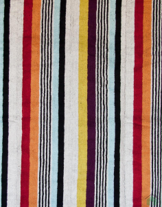 Missoni KEN towel with multicolor stripes