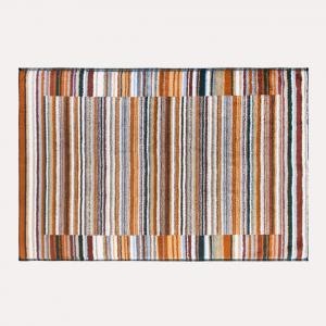 Bath rug Missoni Home Jazz 160 60x90 in shades of brown