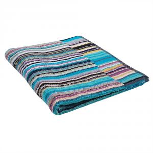 Bath rug Missoni Home Jazz 170 60x90 in shades of blue