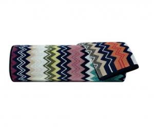 Set Asciugamani Missoni 1 asciugamano + 1 ospite TAYLOR zig zag multicolore