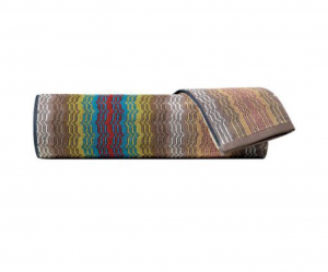 Set Asciugamani Missoni 1 asciugamano + 1 ospite TIAGO ondine colorate