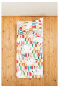 Desigual set lenzuola letto singolo 1 piazza SAUVAGE multicolore