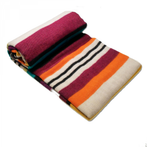Missoni Home THROW  blanket HARPO NEW var.159 striped with fringes
