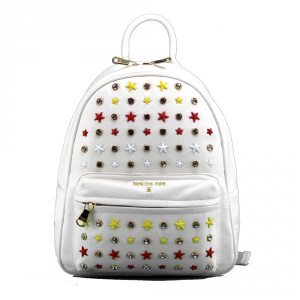 Backpack Patrizia Pepe  2V7768 A3CR XS09 Stars White