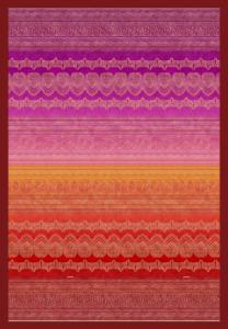 Bassetti Plaid Granfoulard 250x270 cm BRUNELLESCHI v.1 rosso