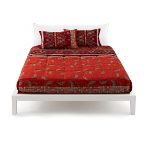 Bassetti Set aus Granfoulard-Bettlaken RAFFAELLO var.1 rot
