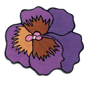 Missoni HomeTappeto bagno Parma Viola diametro 80 cm var. 3