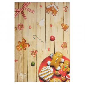 Strofinaccio canovaccio da cucina 50x70 cm Happidea BISCOTTI idea regalo Natale