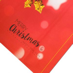 Tovaglia x12 persone 140x240 cm Happidea CRISTALLI idea regalo Natale