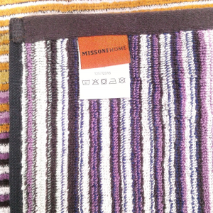 Missoni Home set 2 asciugamani  70x115 cm SCOTT 100