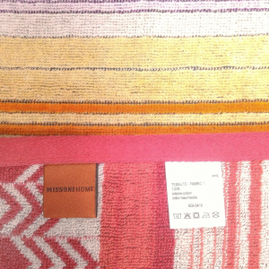 Missoni Home set 2 asciugamani ospite 40x70 cm SUNDAY 159