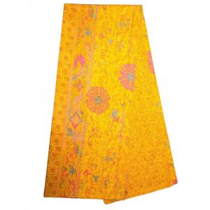 Bassetti Granfoulard telo arredo MIZAR v.4 arancione puro cotone - 180x270 cm