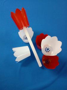 Flambeaux in plastica per processioni