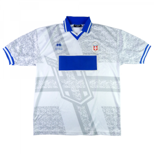 1998-99 Como Maglia Away #14 Match Worn XXL