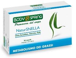 BODY SPRING NATUR SNELLA METABOLISMO DEI GRASSI 30 CAPSULE