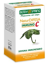 BODY SPRING NATUR DIFESA IMMUNO C 30 COMPRESE