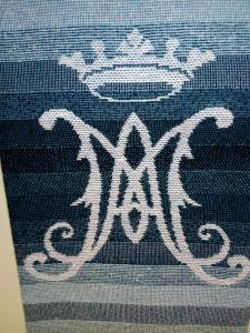 Stola Mariana monogramma