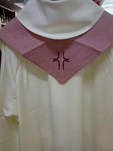 Stola sacerdotale Rosacea disegno Croce