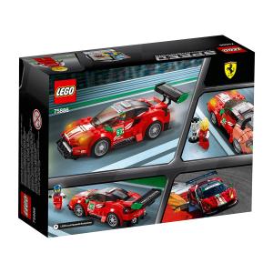 LEGO SPEED CHAMPIONS FERRARI 488 GT3 #SCUDERIA CORSA# 75886