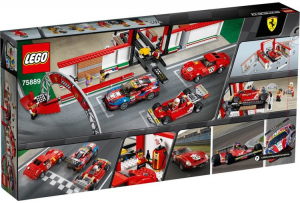 LEGO SPEED CHAMPIONS GARAGE FERRARI 75889