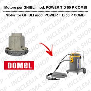 POWER T D 50 P COMBI motore aspirazione DOMEL per aspirapolvere GHIBLI