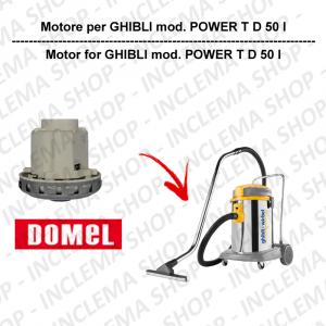 POWER T D 50 I motore aspirazione DOMEL per aspirapolvere GHIBLI