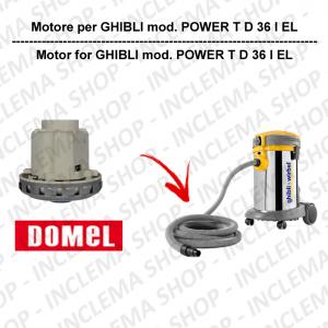 POWER T D 36 I EL motore aspirazione DOMEL per aspirapolvere GHIBLI