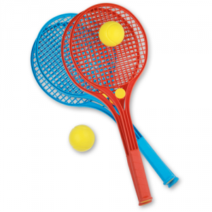 RACCHETTE TENNIS SOFTY COLORATE IN RETE 5801-0000 ANDRONI
