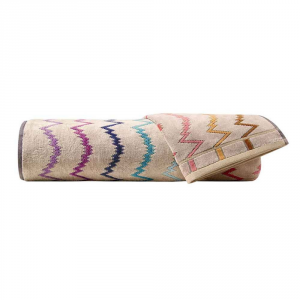 Missoni Home SALE UNISEX Bath Towel + Hand towel VERA 100