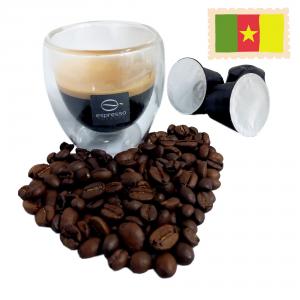 60 capsule compatibile nespresso monorigine Camerun robusta naturale