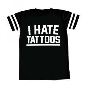 Perforados camiseta IO ODIO I TATUAGGI