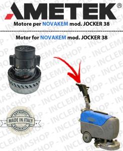 JOCKER 38B MOTORE AMETEK di aspirazione per lavapavimenti NOVAKEM