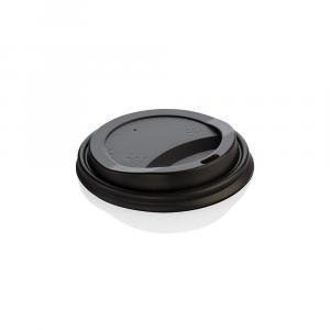 Coperchi biodegradabili per bicchieri asporto 360-500ml nero