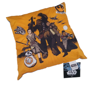 Star Wars Cuscino Imbottito Bassetti 40x40 REBEL FORCES puro cotone Originale