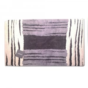 Tappeto da bagno in spugna 50x80 cm Carrara MANCHESTER grigio