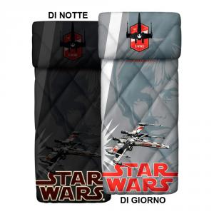 Copriletto trapuntato singolo 1 piazza BASSETTI STAR WARS Luke