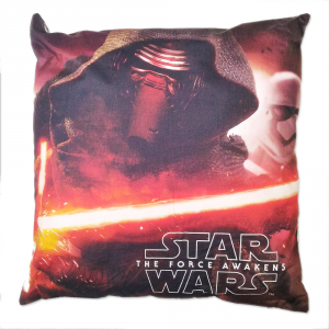 Star Wars Cuscino Imbottito Bassetti 40x40 cm THE FORCE Originale