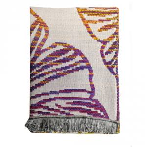 Missoni Home Throw with fringes TRINA Floral fantasy