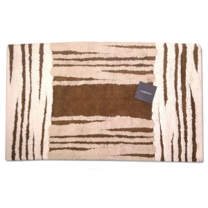 Terry toweling rug 70x110 cm Carrara MANCHESTER brown