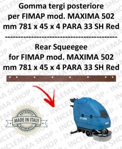 MAXIMA 502 Gomma tergi posteriore per lavapavimenti FIMAP